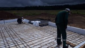 Как мы делаем свайно-ростверковый фундамент