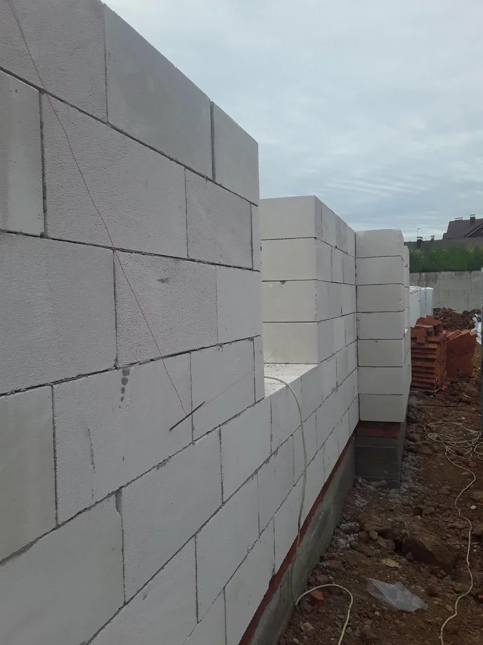 Строительство дома из газоблоков