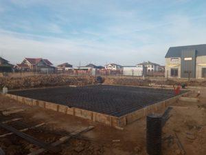 армирование монолитной плиты фундамента для загородного дома