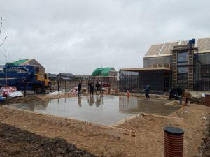 фундамент утепленная плита 150 кв. метров для каркасного дома