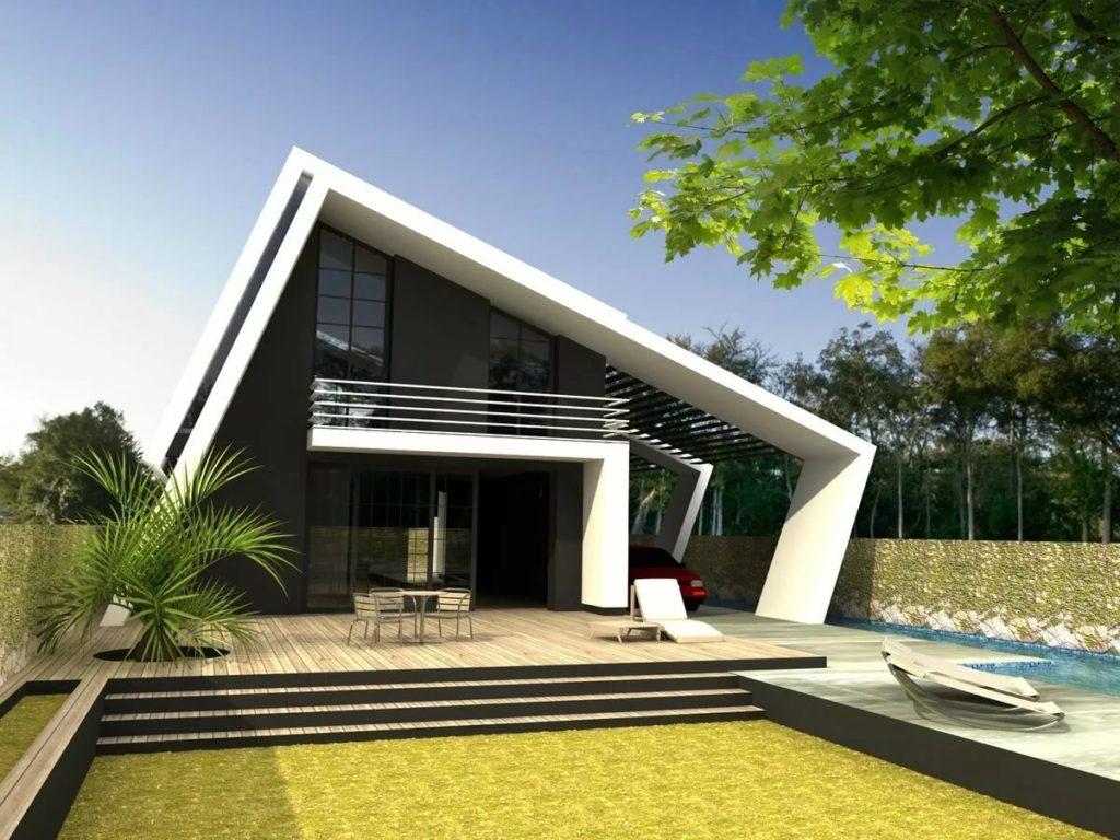 Строительство загородных домов с стиле хай-тек
