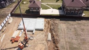 Строительство домов, монтаж цоколя