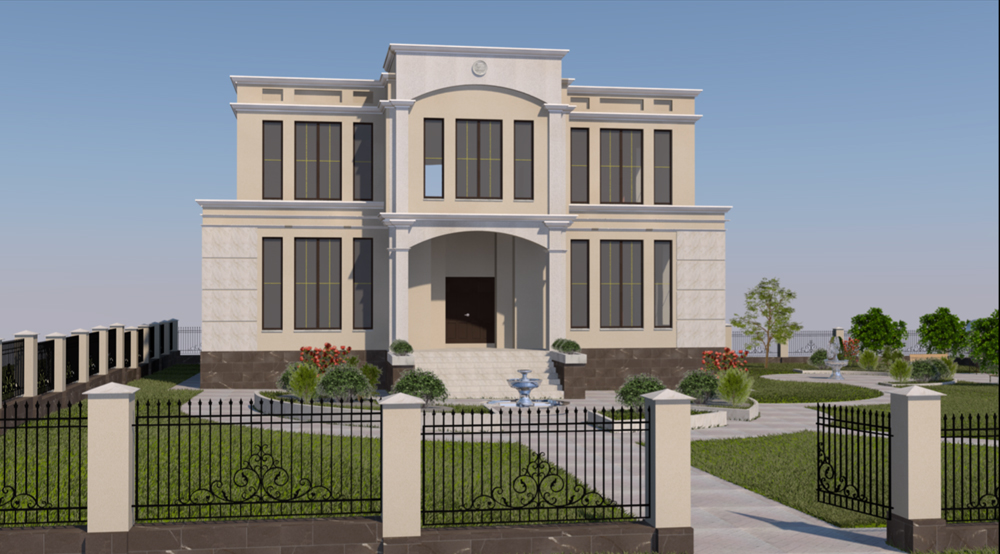 Проектирование загородных домов и коттеджей. Вид 1