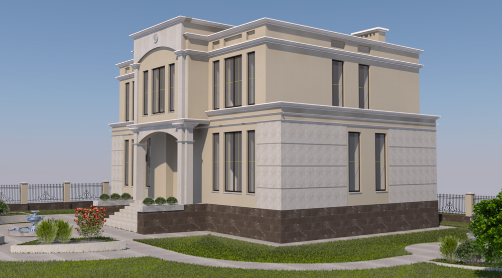 Проектирование загородных домов и коттеджей. Вид 2