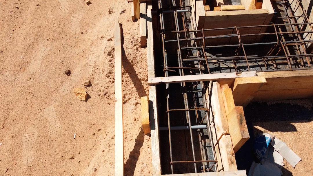 Строительство монолитной плиты