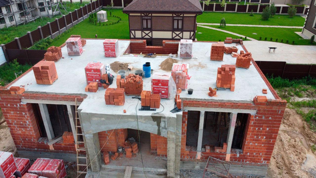 Строительство дома из керамоблоков под ключ